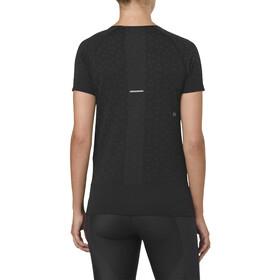 asics Seamless SS Texture Koszulka do biegania z krótkim rękawem Kobiety czarny